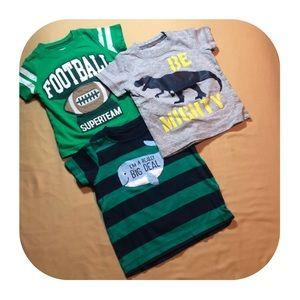 12M Carter's 3 T-shirt bundle